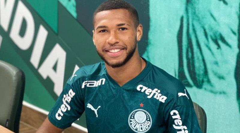 Palmeiras renova contrato do atacante Wesley até o final de 2024