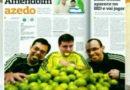 07/08/2011 – SporTV –  Redação – André Rizek apresenta a Turma do Amendoim sabor Limão